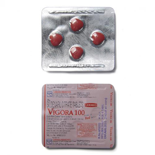 Vigora 100 Red Tablets Dosage